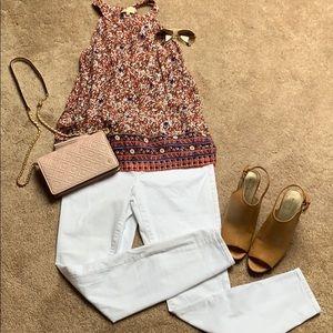 White Elle Jeans